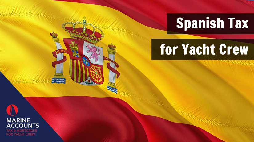 Spanish Tax for Yacht Crew