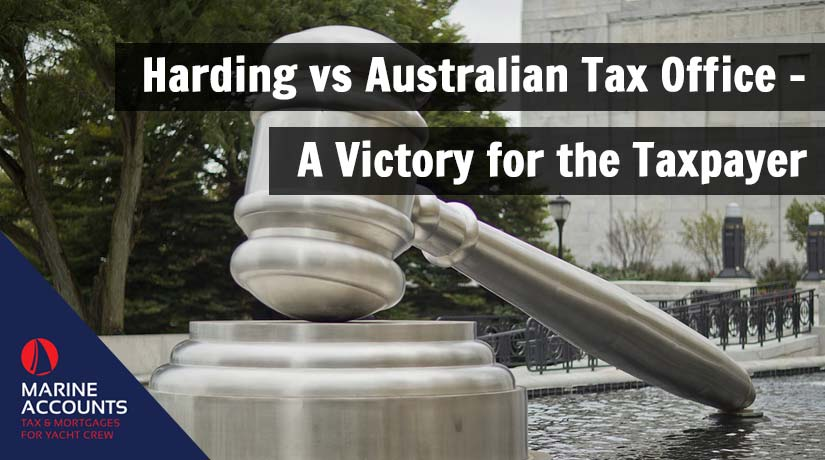 Harding vs Australian Tax Office - A Victory for the Taxpayer