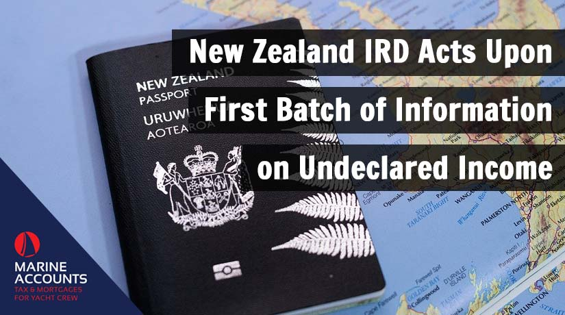 New Zealand IRD Acts Upon First Batch of Information on Undeclared Income