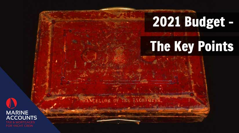 2021 Budget - The Key Points