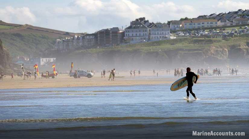 Penhale Sands Cornwall
